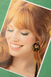 Glitz o Matic 32882 Glitter Hoops Stars Black Gold 191219 008 W