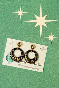 Glitz o Matic 32882 Glitter Hoops Stars Black Gold 191219 005 W