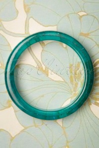 Splendette 33070 Teal Blue Glitter Bangle 191220 003 W