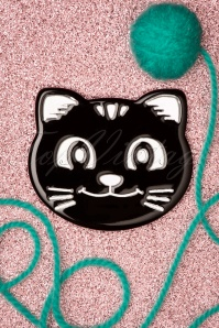 Darling Divine 33416 Zwart Brouche Black Cat 200102 014 W