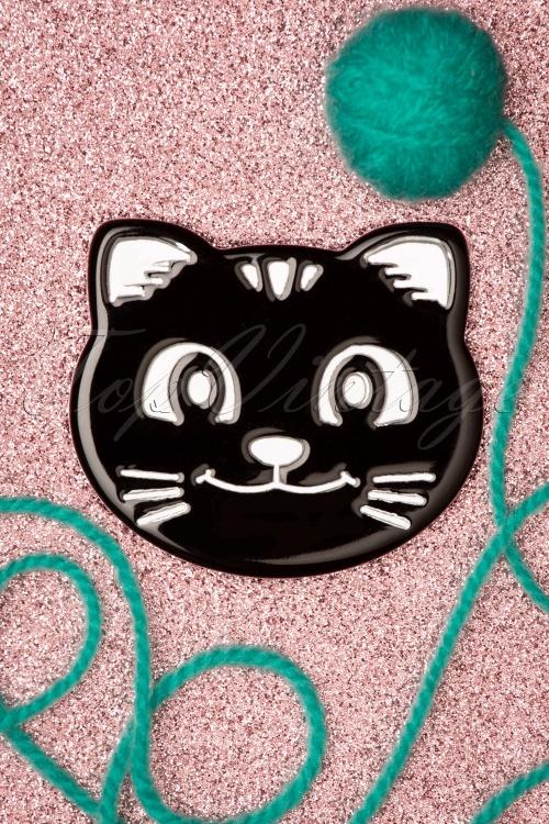 Darling Divine 33416 Zwart Brouche Black Cat 200102 014 W