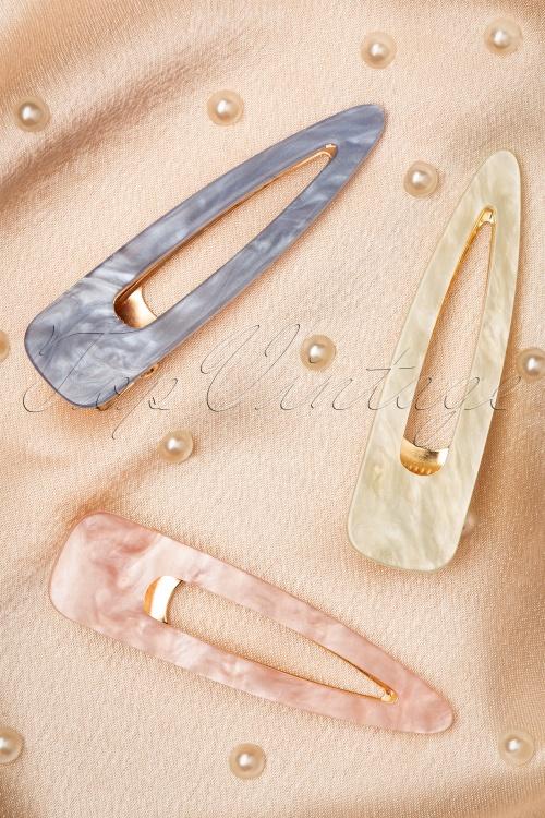 Darling Divine 33421 Haarspeldjes Hair Clip Multi Pink Green Blue 200102 008 W