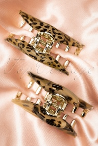 Darling Divine 33425 Haarklem Hair Clip Tortoise Brown Gold 200102 004 W