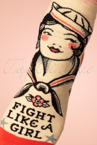 Cortina 26013 Fight like a girl socks 20191212 005W