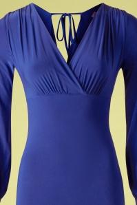 Vintage Chic 33356 Boycon Dress Royal Blue20200106 002V