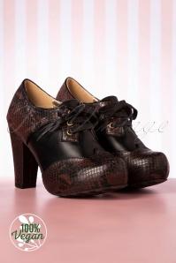 Loloa Ramona 30275 Boots Elleen Brown Snake Black 20200106 046V