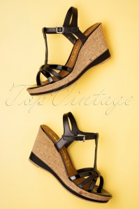 Tamaris 32346 Shoes Black Wedges 20200109 017 W