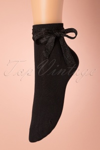 50s Emma Socks in Black