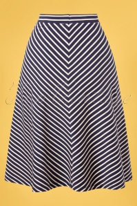 King louie 31707 Juno Jersey Skirt Breton Stripe20191209 006W