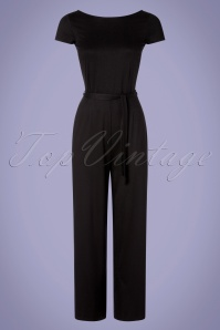 King Louie 31760 Sally Jumpsuit Ecovero Classic Black 20191206 0002W