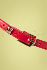 Collectif 31827 Terry Thin Belt Red200113 006 W