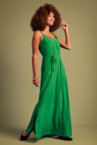 KingLouie 31663 Allison Pablo Maxi Dress in Very Green 20200114 020L