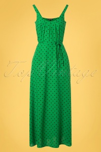 King Louie 31663 Allison Pablo Maxi Dress in Very Green 20191213 0002W