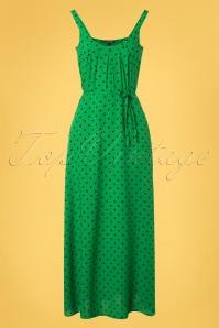 King Louie 31663 Allison Pablo Maxi Dress in Very Green 20191213 0002W
