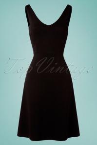 King louie 31741 Lucia Milano Black Dress20191209 004W