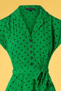King louie 31664 Darcy Dress Pablo Very Green20191209 002V