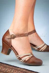 Miz Mooz 32067 Fedora Brandy Heels 200113 029W
