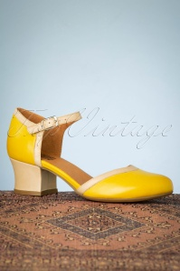 Miz Mooz 32069 Fleet Pump Yellow Heels 200110 022W
