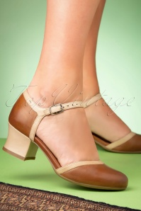Miz Mooz 32070 Brandy Beige Fleet Pump 200113 008W