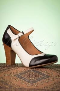Miz Mooz 32072 Jazzy Black Ice White Heels 200110 006W