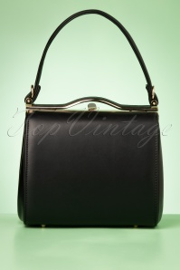 Collectif Clothing 60s Carrie Bag in Black