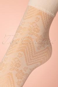 Fiorella 26114 60s flowerbed socks 01092020 002W