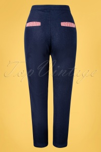 Banned 32823 Diner Days Trousers Dark 11112019 007W