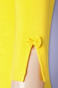 Banned Retro 32455 Yellow Modern Love Shirt 200116 008W