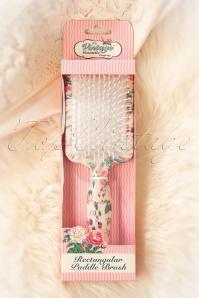 Vintage cosmetic 29693 Rectangular Paddle Brush 01162020 004W