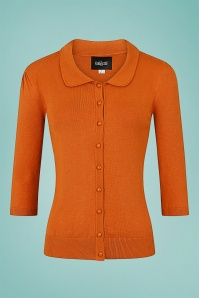 Collectif 32139 Jorgie Cardigan Orange 20191030 021L copy