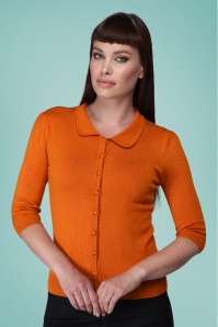 Collectif 32139 Jorgie Cardigan Orange 20191030 020L copy