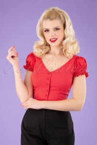 Collectif 32123 Sofia Gypsy Top Red 040MW