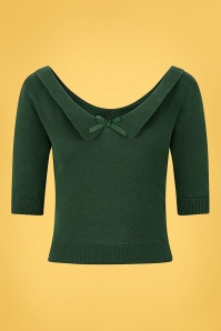 Collectif 32215 Babette Jumper Green 20191030 021L copy