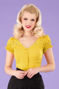 Collectif 32124 Sofia Gipsy Top Yellow MW
