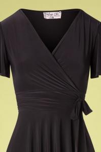 Vintage Chic 33365 Swindress Black 40s Irene 012120 004V
