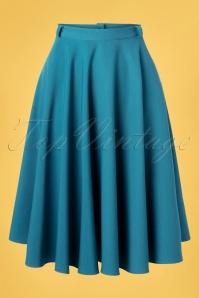 Verry Cherry 31509 Circle Skirt in Light Petrol20191224 005 W