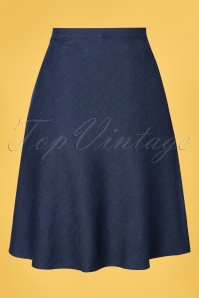 Verry Cherry 31507 Dark Denim A line Skirt200122 005 W