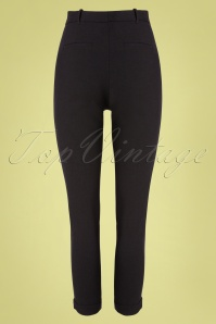 Louche 32806 Trousers Black Jaylo 012120 007W