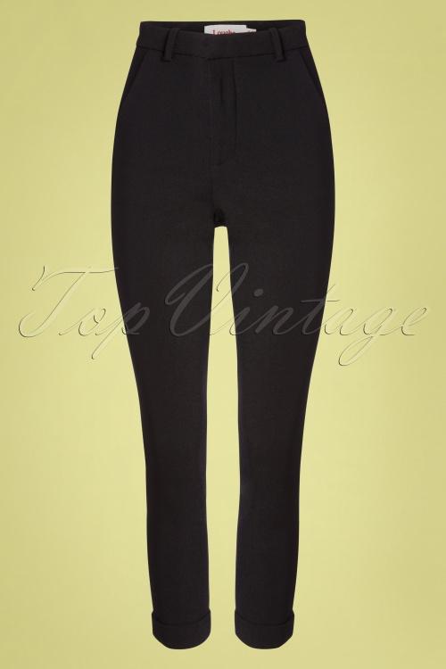 Louche 32806 Trousers Black Jaylo 012120 003W
