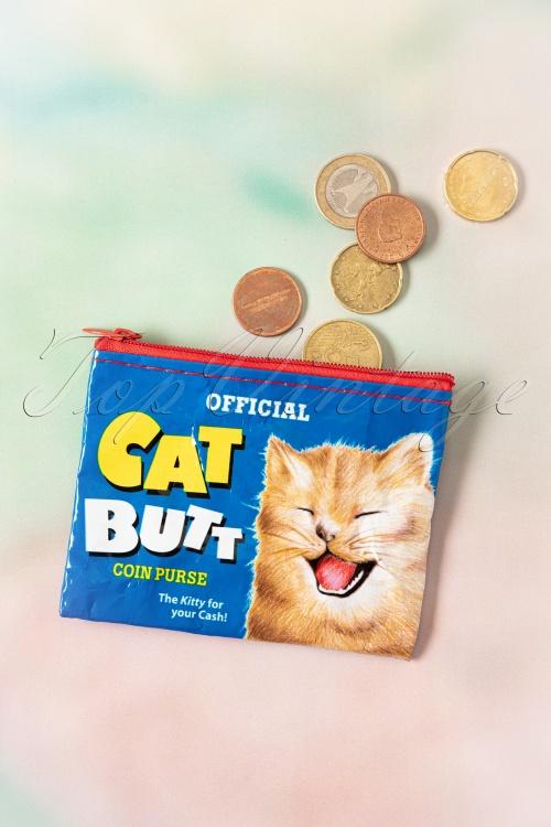 Blue Q  26015 50s Cat Butts Coin Purse 01212020 005W