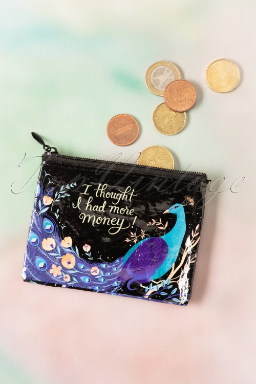 Blue Q  26766 50s I Thought I Had More Money Coin Purse 01212020 003W