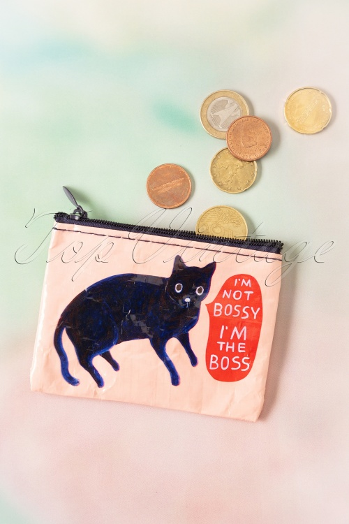 Blue Q  30997 50s I'm Not Bossy Coin Purse 01212020 002W