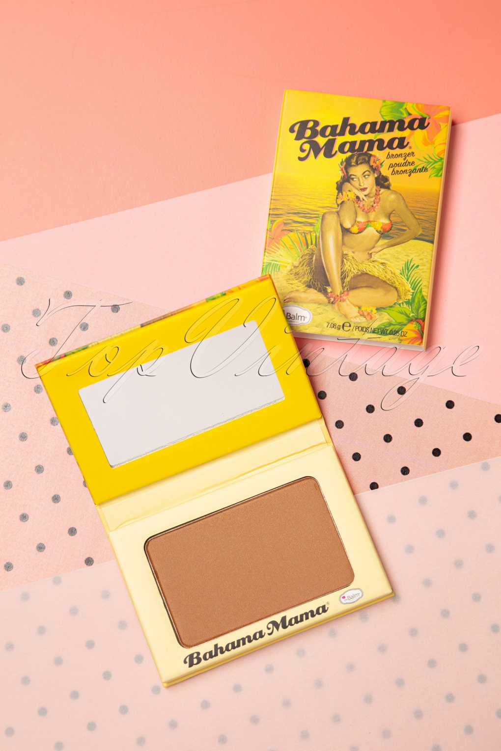Authentic 1950s Makeup History and Tutorial Bahama Mama Bronzer Shadow and Contour Powder £19.29 AT vintagedancer.com