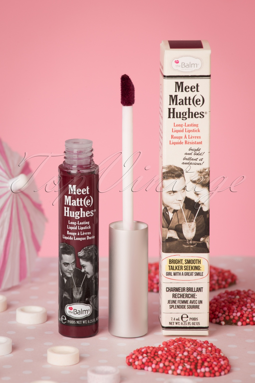 Authentic 1950s Makeup History and Tutorial Meet Matte Hughes in Adoring Merlot £16.29 AT vintagedancer.com