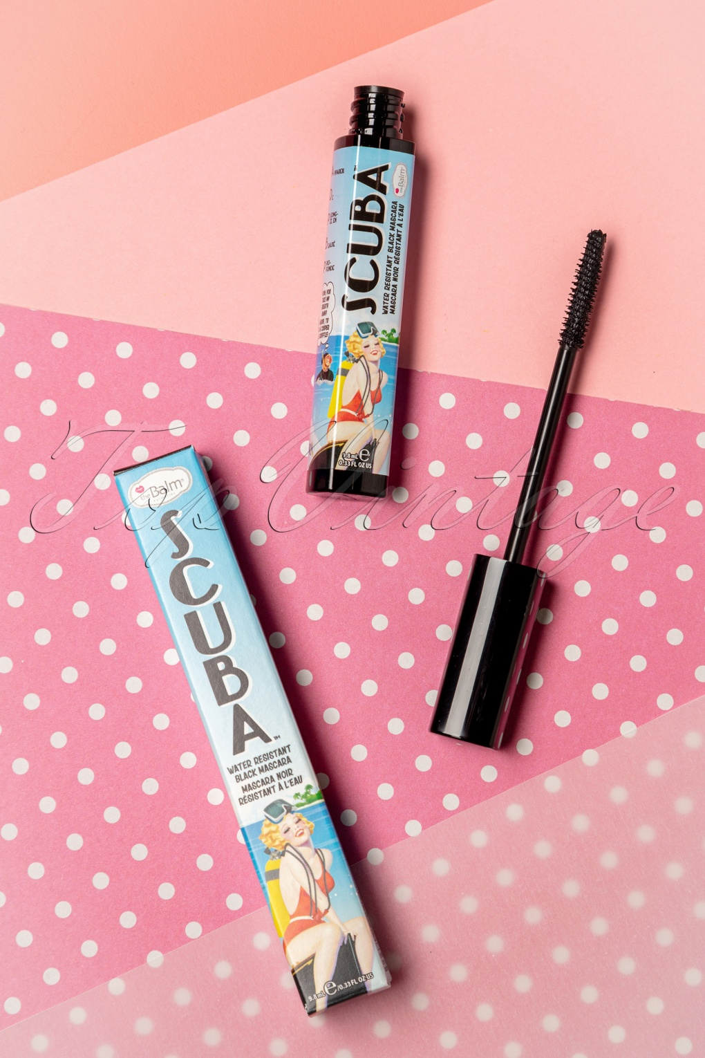 Authentic 1950s Makeup History and Tutorial Scuba Water Resistant Mascara in Black £16.61 AT vintagedancer.com