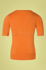 Mak Sweater 33450 Debbie light orange 27012020 009W