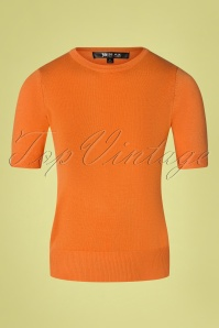 Mak Sweater 33450 Debbie light orange 27012020 002W