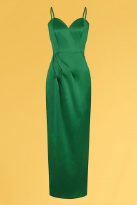 Collectif 32214 Lya Occasion Maxi Dress Green 20200120 020LW