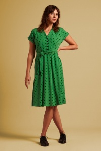 KingLouie 31664 Darcy Pablo Dress in Very Green 20200123 020L