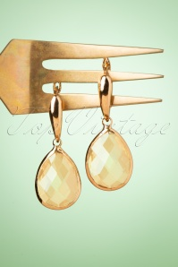 Glamfemme 33537 Peach Earrings Gold 200122 002W